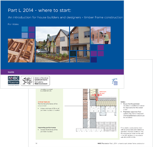 Part L 2014 – where to start: an introduction for house builders and designers – timber frame construction (for Wales) <br>