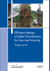 Efficient design of piled foundations for low-rise housing - Design guide - NF21_163x233