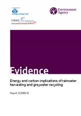 Energy and carbon implications of rainwater harvesting and greywater recycling
