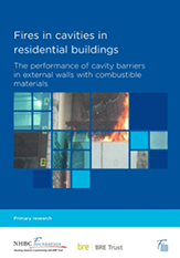 Fires in cavities - report cover