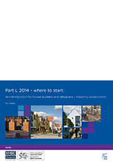 Part L 2014 - where to start An introduction for house builders and designers – for Wales - NF64_163x233