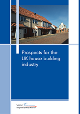 UK house building industry - report cover