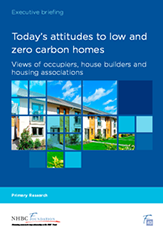 Zero carbon housing - report cover