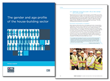 The gender and age profile of the house-building sector <br><br>