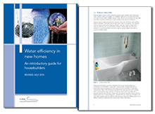 Water efficiency in new homes: an introductory guide for housebuilders