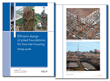 Efficient design of piled foundations for low-rise housing: design guide