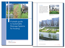 A simple guide to Sustainable Drainage Systems for housing