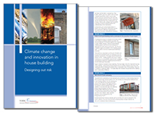 Climate change and innovation in house building: designing out risk