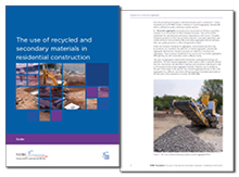 The use of recycled & secondary materials in residential construction