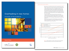 Overheating in new homes: a review of the evidence