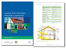 Lessons from Germany's Passivhaus experience