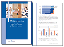 Modern housing: households' views of their new homes
