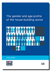 Report on house-building sector demographics - cover