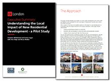 Understanding the local impact of new residential development: a pilot study