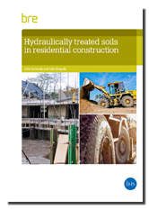 Hydraulically treated soils in residential construction - cover